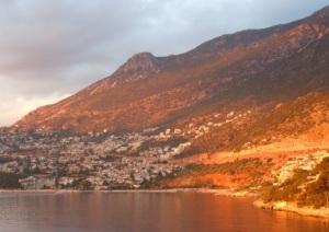 kalkan,-turkey,-sunset,-sea,-city,-hill-161693